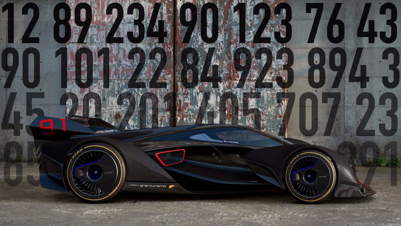 McLaren Vision Gran Turismo Motor Math