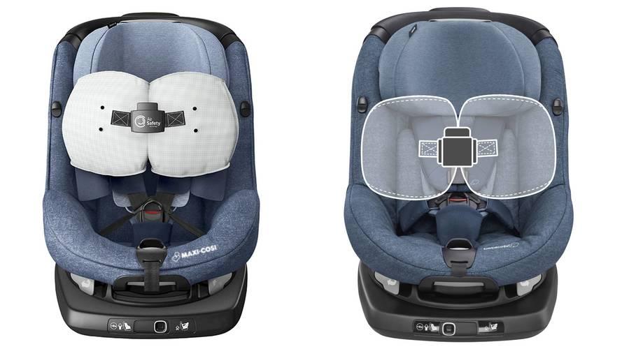 Siège bébé avec airbags