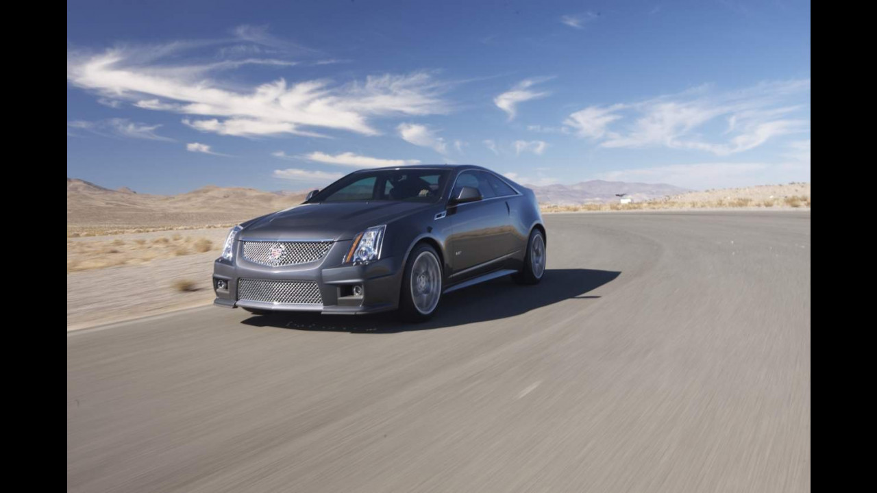 Cadillac Cts V Coupe Motor1 Com Italia