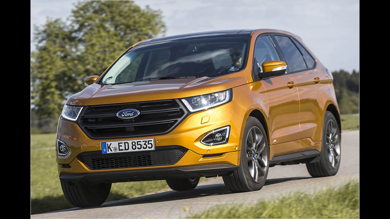 210 PS: Ford Edge 2.0 TDCi Bi-Turbo