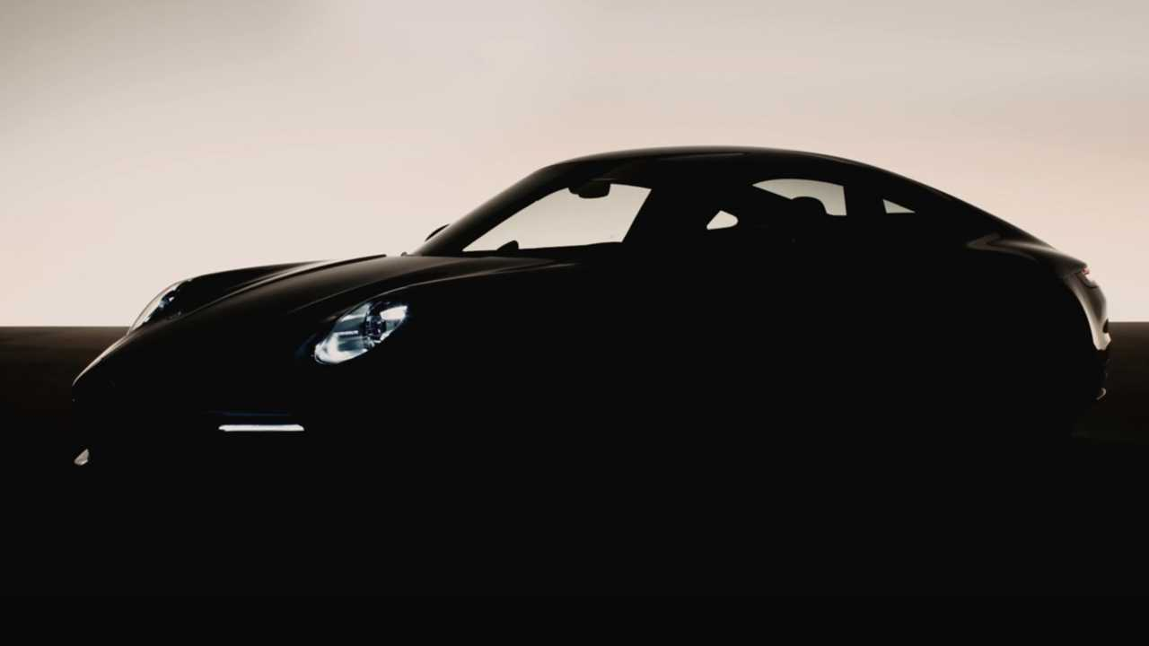 2020 Porsche 911 yeni teaser
