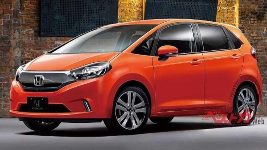 Novo Honda Fit 2020 é antecipado em projeção