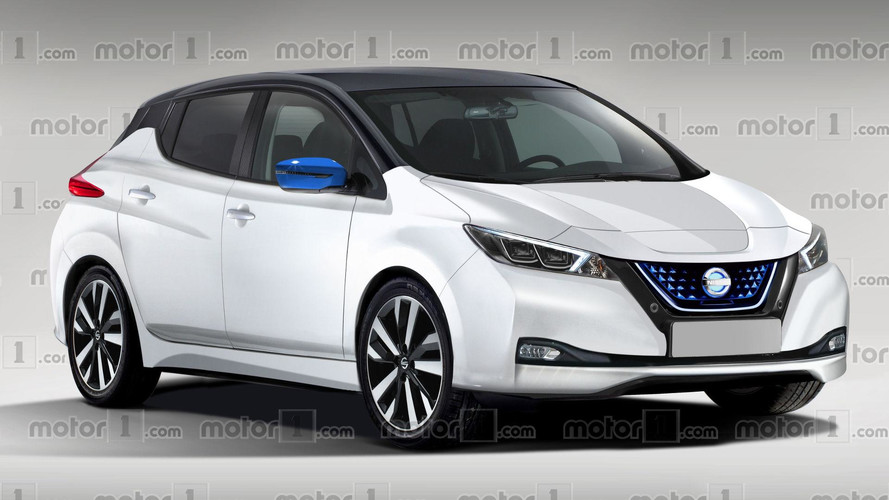 2018 Nissan Leaf Render Previews Massively Improved Design