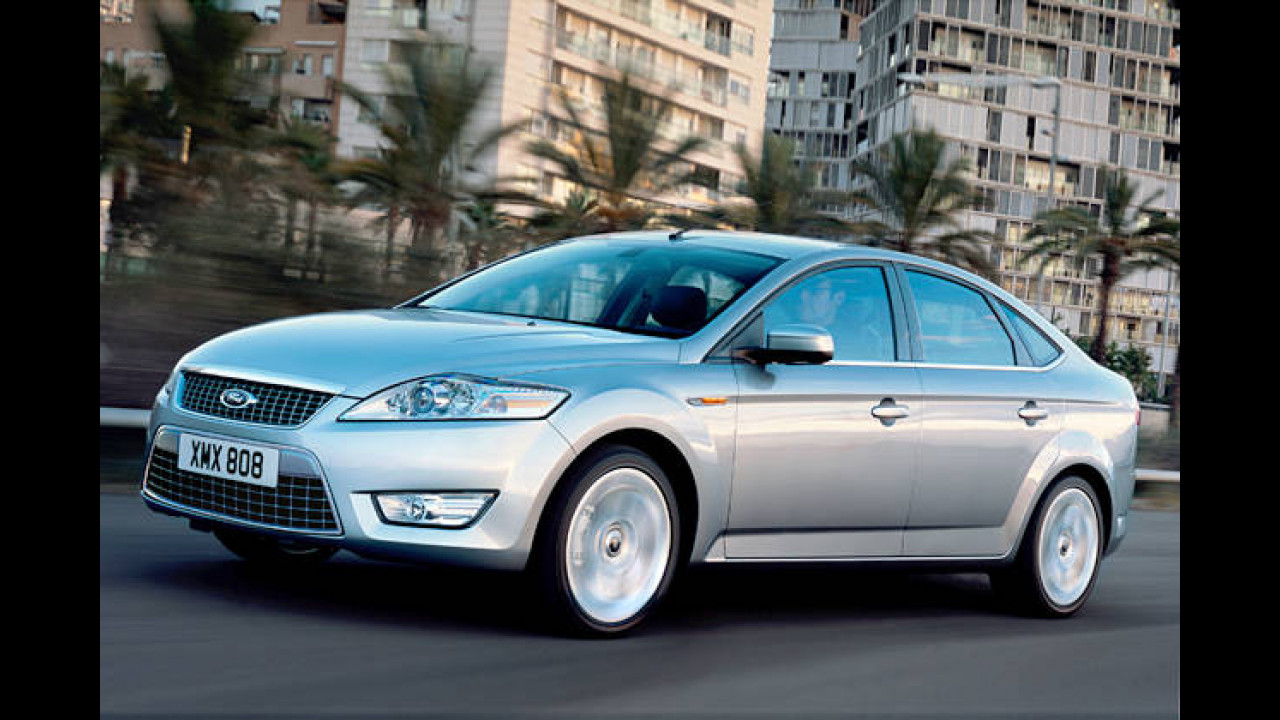 Platz 23: Ford Mondeo 2.5 Turbo Trend