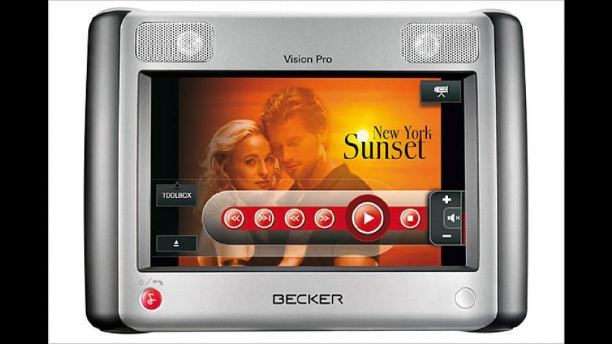 Vision Pro: Der Becker-Entertainer fürs Auto ist ein Multitalent
