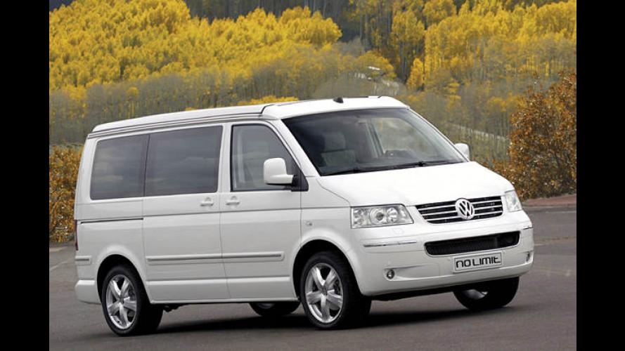 VW Nutzfahrzeuge: Sondermodell und Studie zum California