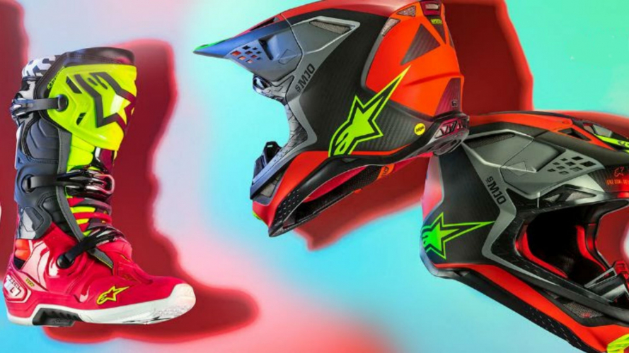 Alpinestars Anaheim 19, la limited edition che celebra il Supercross