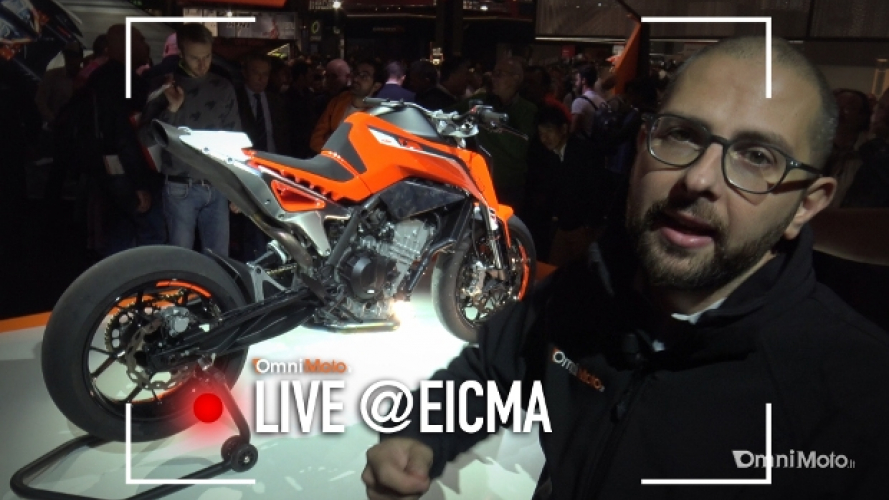KTM 790 Duke Prototype a EICMA 2016 [VIDEO]