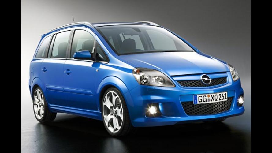 Der neue Opel Zafira OPC: Sportvan mit 240 Turbo-PS