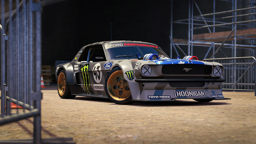 You Can Drive Ken Block's 1,400-HP Hoonigan Mustang In Forza 7