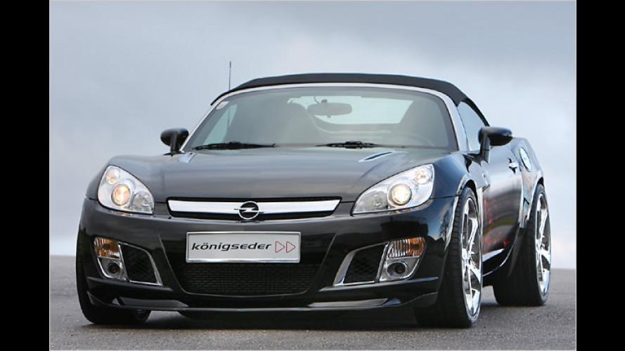 Tuning Made in Austria: Königseder veredelt den Opel GT