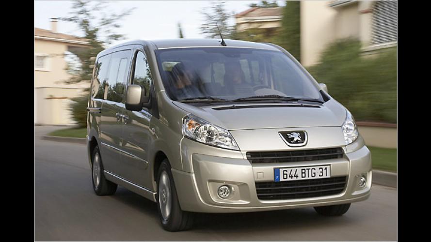Neuer Peugeot Expert Tepee: Preise stehen jetzt fest