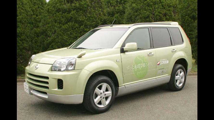 Erster Nissan X-Trail mit Wasserstoffantrieb ausgeliefert