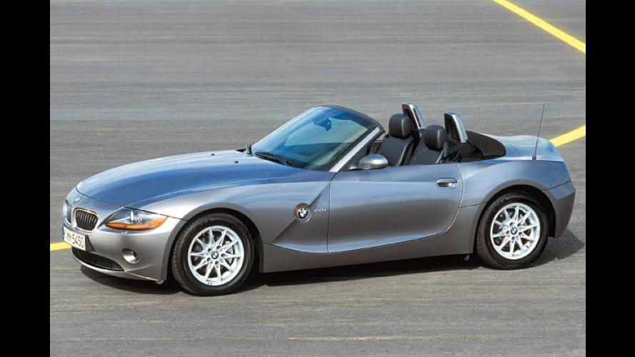 Öffnung nach unten: Neuer Einstiegsmotor für den BMW Z4