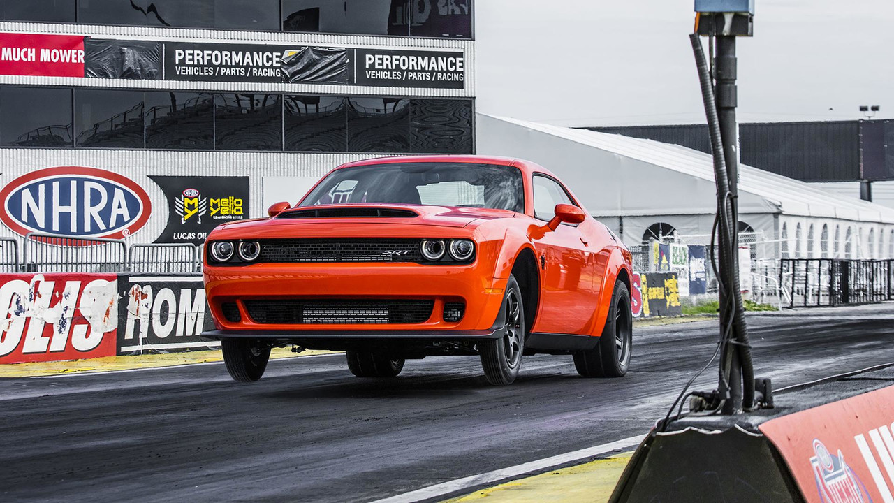 Not Quicker Than A Dodge Challenger SRT Demon
