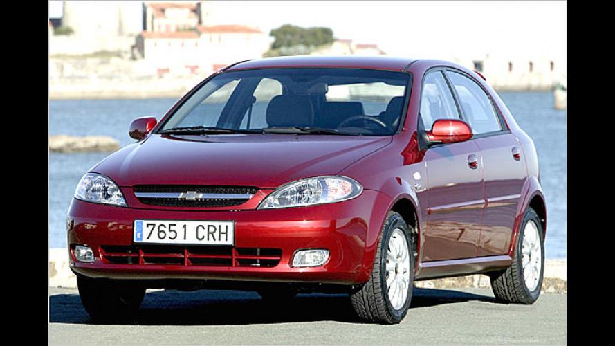 Chevrolet Lacetti und Nubira: Nun auch mit Diesel