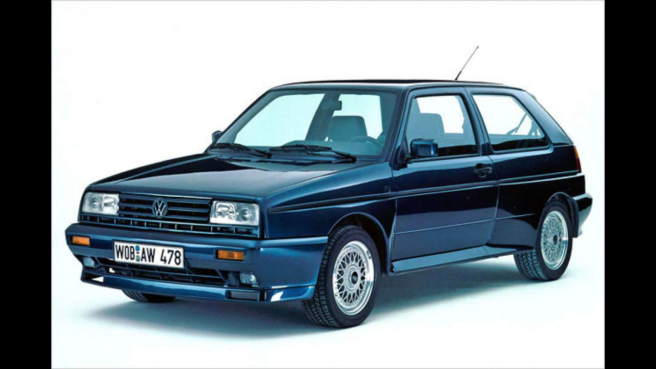 VW Rallye Golf, Baujahr: 1989