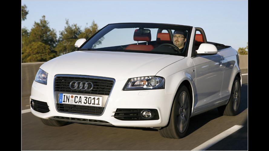 Audi A3 Cabriolet (2008) im Test: Auf, drei, los geht's!