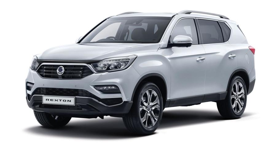 Yeni 2017 Ssangyong Rexton