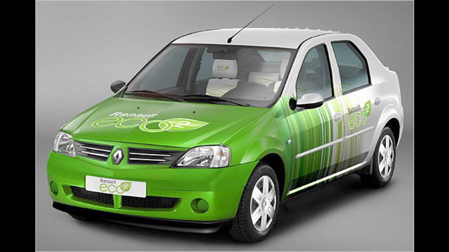 Dacia Logan eco2 Concept: Sparsames Billigauto mit Diesel