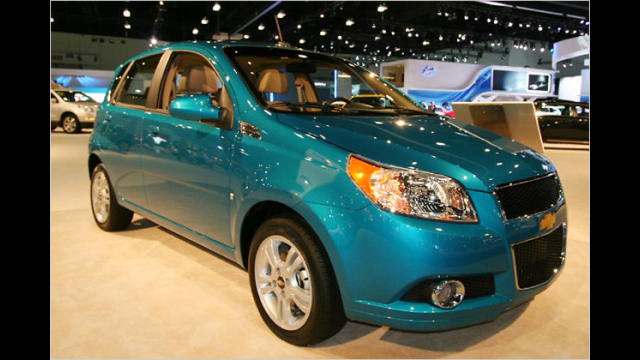 Chevrolet Aveo Fünftürer