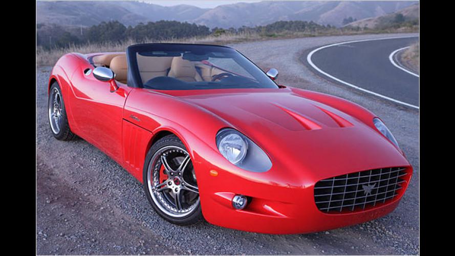 Der Anteros XTM Roadster: Konkurrenz für Ferrari und Co.