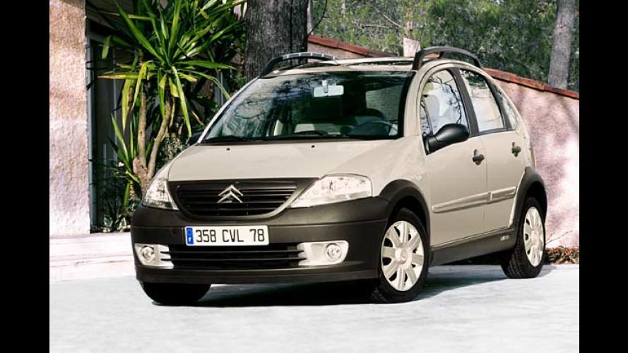 Citroën C3 X-TR: Outdoor-Look für Unternehmungslustige
