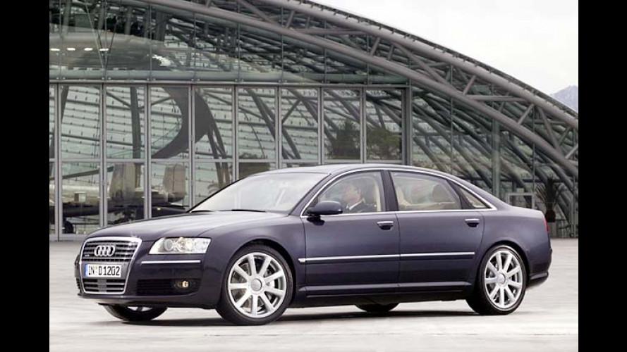 Audi A8 6.0 W12 quattro (2004) mit 450 PS im Test