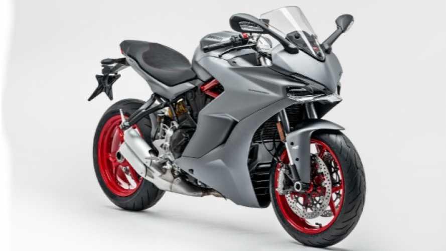 Ducati: nuovo look per la SuperSport, ora in grigio titanio