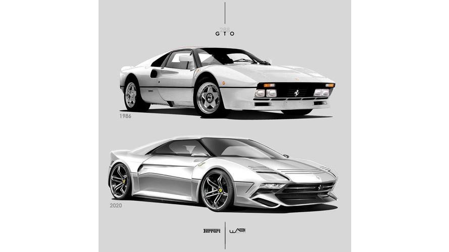 Rendu Ferrari 288 GTO