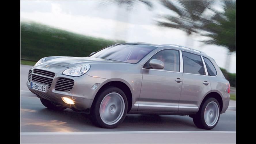 Porsche präsentiert neues Topmodell des Cayenne