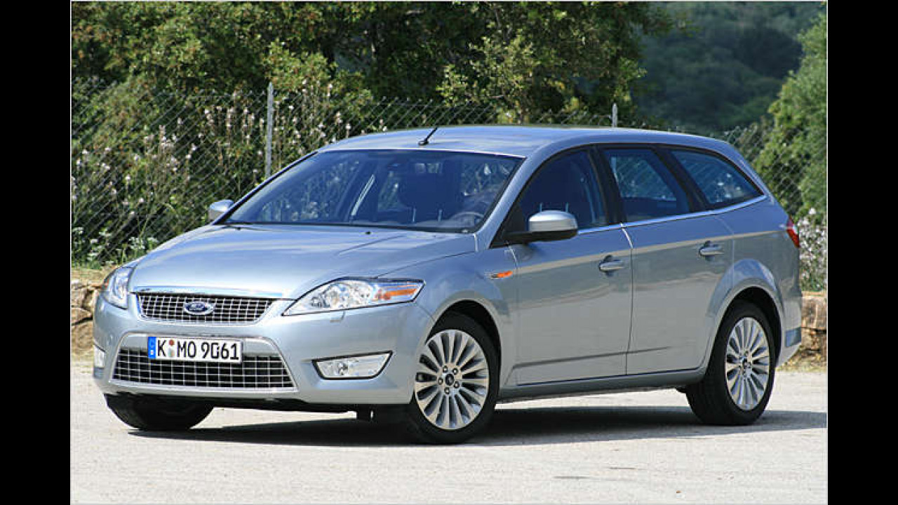Ford Mondeo 2.0 TDCi DPF 140 PS