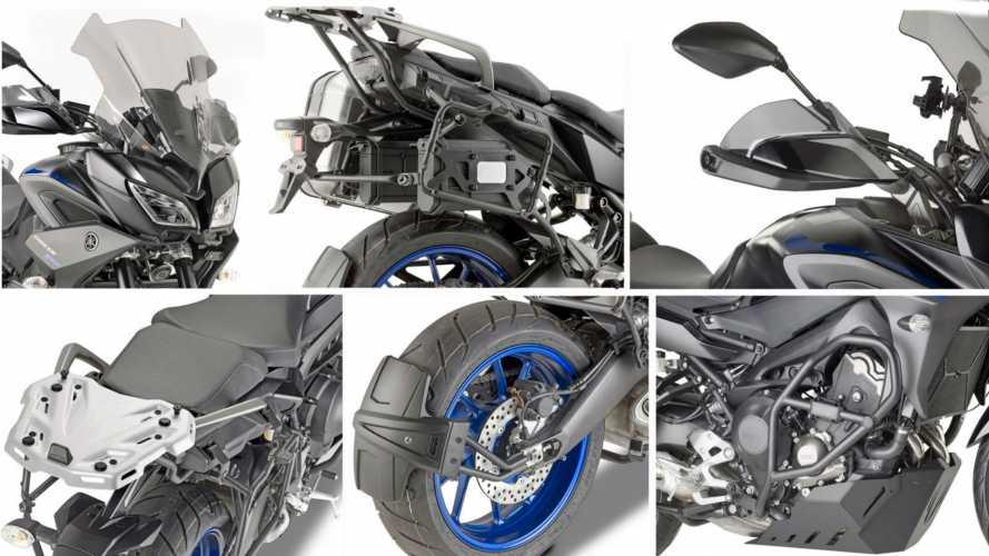 Givi, arriva il kit per Yamaha Tracer 900