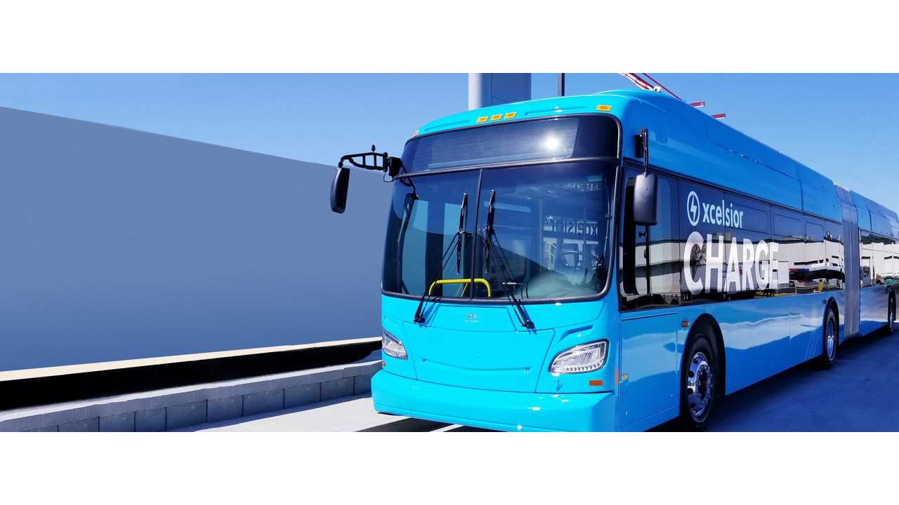 New Flyer Lands Five 60-Foot Electric Bus Orders
