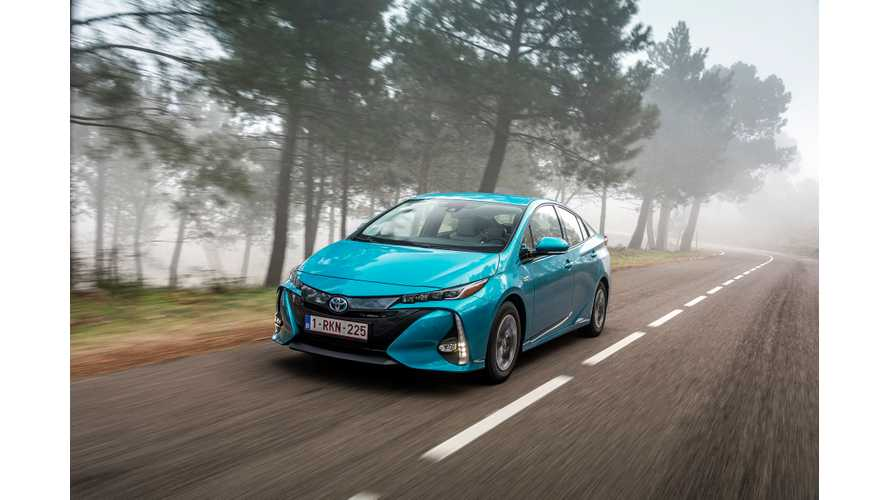 Over Half Of Toyota Sales In Europe Continue To Be Hybrids