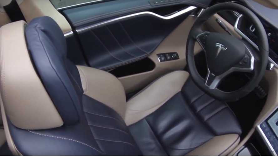 Tesla Model S With BMW Interior - Videos