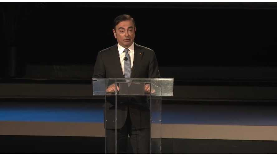 Carlos Ghosn Nissan CEO On Electric Vehicles, Fuel Cells From New York