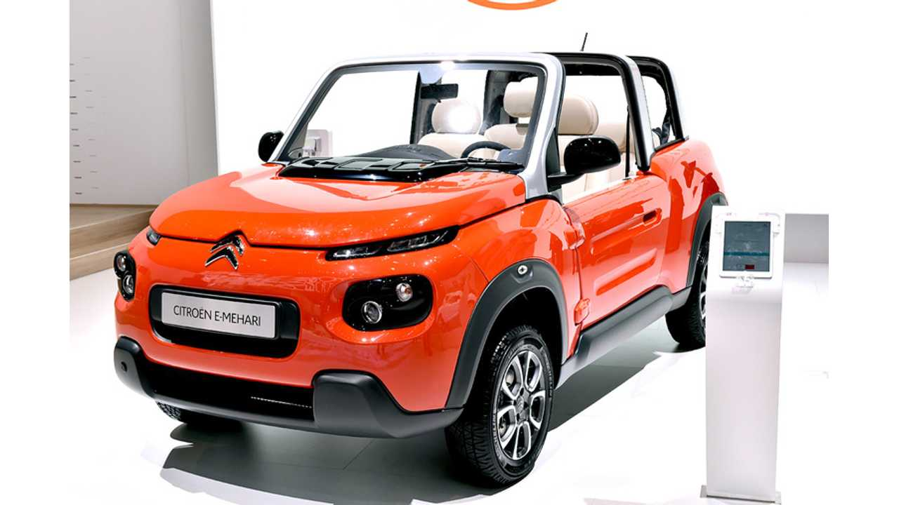 Citroën E-Mehari Debuts In Geneva (Specs, Gallery, Videos)