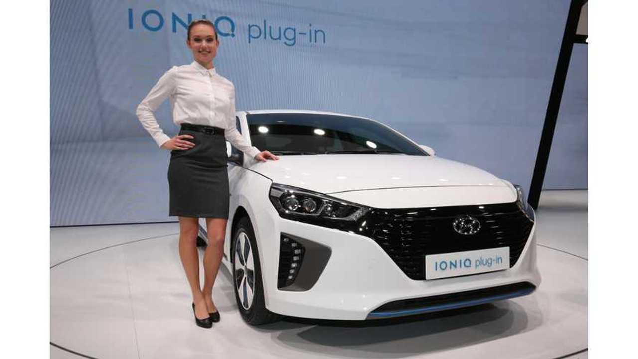 Hyundai IONIQ Electric & IONIQ Plug-in At The Geneva Motor Show (Gallery, New Stats)