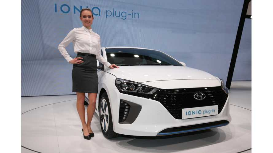 Hyundai IONIQ Electric & IONIQ Plug-in At The Geneva Motor Show (Gallery, New Stats)