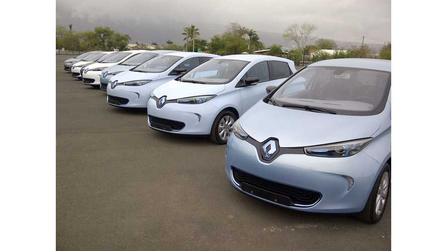 France EV Goal: 50% Of Government Vehicle Purchases To Be Plug-In Electric Starting In 2016