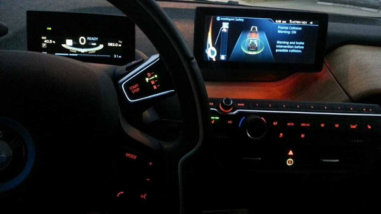 2015 BMW i3 Terra Dash At Night