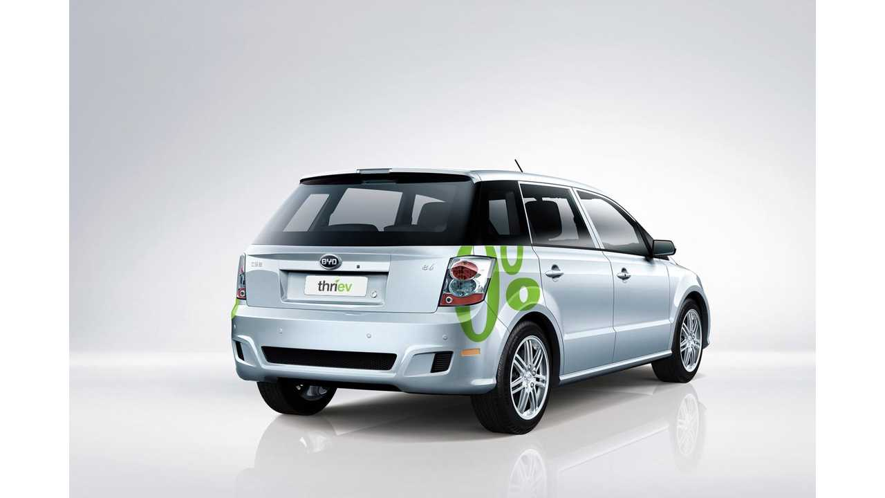 BYD e6 In Thriev Fleet Featured In Fully Charged - Video
