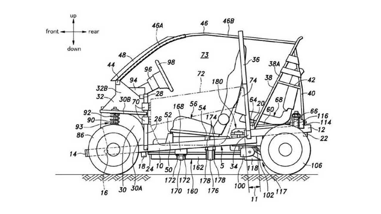 Honda City EV Patent
