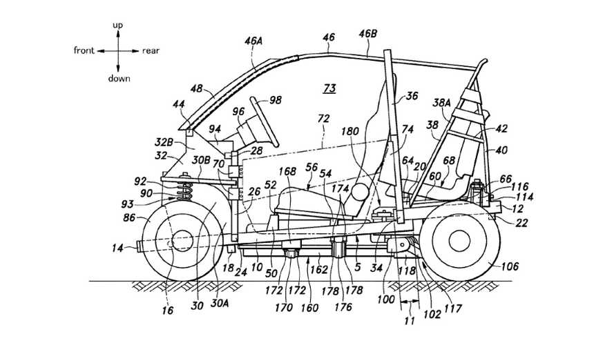 Honda Patent Reveals Design For New, Bubbly City EV