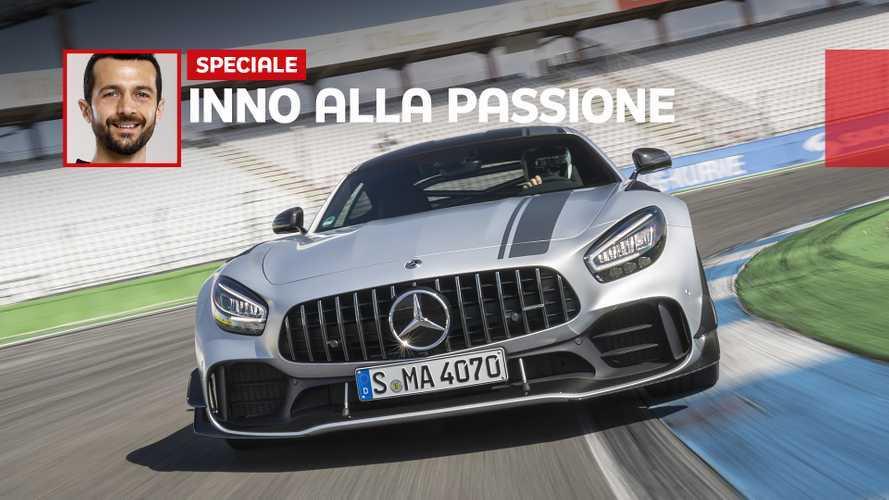 Mercedes AMG GT, adrenalina in pista e a cielo aperto