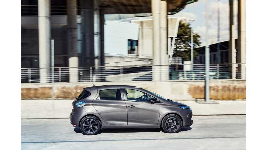 In April 2019, plug-in EV car sales in Europe increased 30 percent