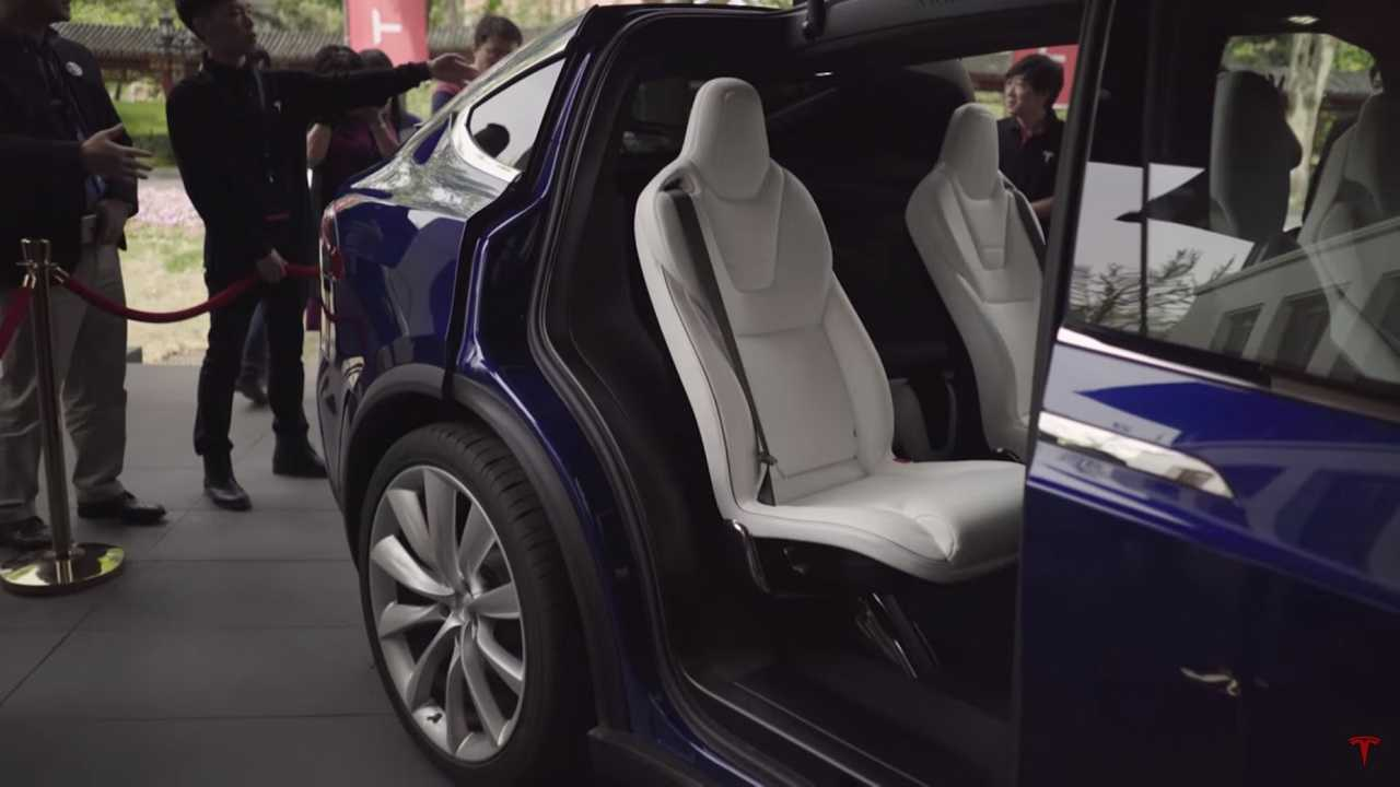 A Look Inside The Tesla Model X