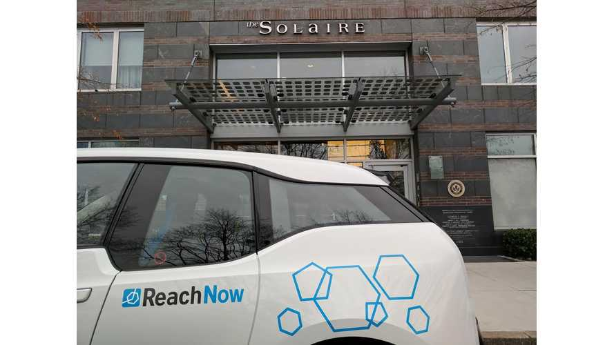 BMW And ReachNow To Offer i3s As Building Amenity in NYC
