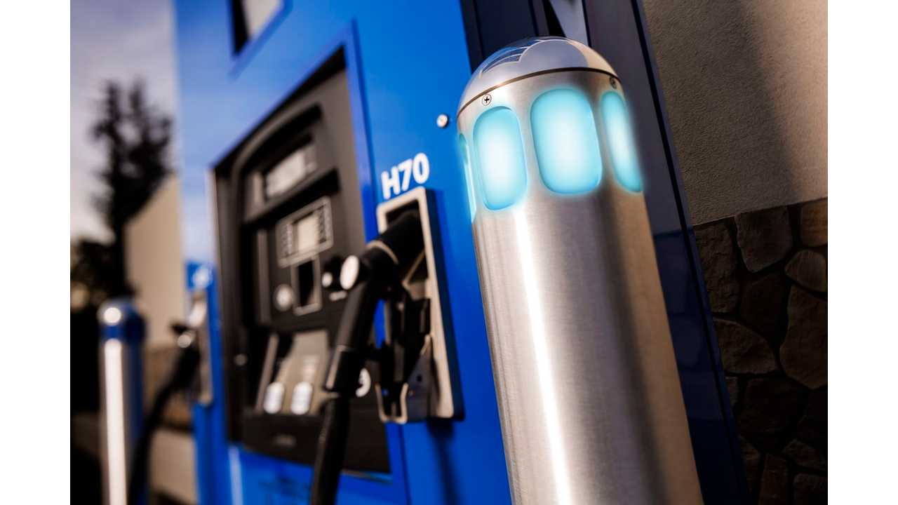 Hydrogen fuel station – FirstElement Fuel's True Zero Hydrogen Network
